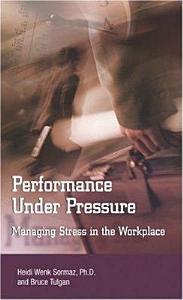 Performance Under Pressure Book