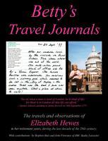 Betty s Travel Journals PDF