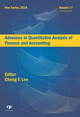 Advances in Quantitative Analysis of Finance and Accounting  New Series  Vol  17