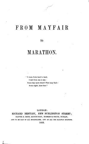 From Mayfair to Marathon