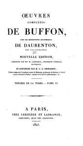 Oeuvres complètes de Buffon: avec les descriptions anatomiques de Daubenton, son collaborateur, Volume6,Partie6