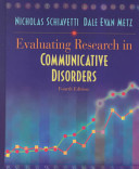 Evaluating Research in Communicative Disorders Book