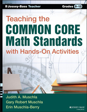 Teaching the Common Core Math Standards with Hands On Activities  Grades 9 12