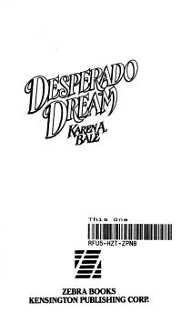 Desperado Dream PDF