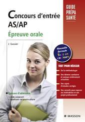 Concours d'entrée AS/AP. Épreuve orale: Édition 7