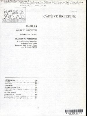 Captive Breeding PDF