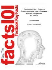 Entrepreneurism , Exploring Entrepreneurship from a Business Process Perspective