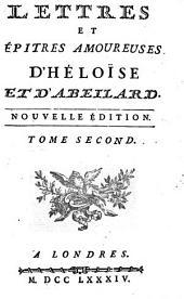Lettres et épitres amoureuses d'Héloïse et d'Abeilard