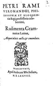 Rudimenta grammaticae latinae