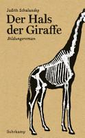 Der Hals der Giraffe PDF