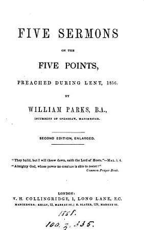 Five sermons on the five points PDF