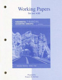 Working Papers for Use with Fundamental Financial Accounting Concepts PDF