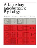 A Laboratory Introduction to Psychology PDF