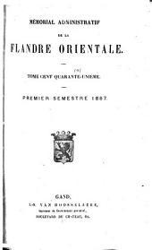 Mémorial administratif de la Flandre orientale: Volume 141