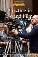 Directing in TV and Film PDF