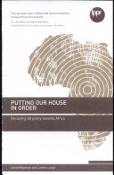 Download Putting Our House in Order Book