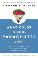 What Color Is Your Parachute  2020 PDF