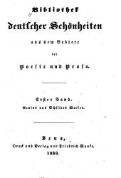 Genius aus Schillers Werken