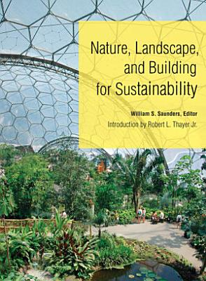 Nature  Landscape  and Building for Sustainability PDF