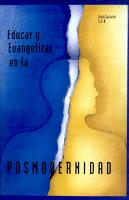 Educar y evangelizar en la Posmodernidad PDF