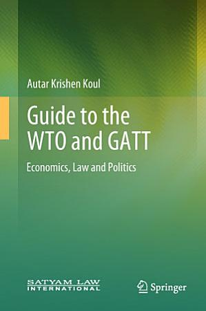 Guide to the WTO and GATT PDF