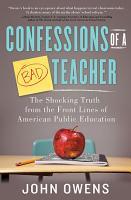 Confessions of a Bad Teacher PDF