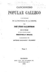 Cancionero popular gallego: y en particular de la provincia de la Corun︢a, Volumen 1