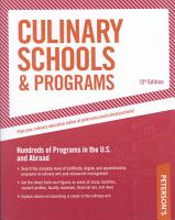 Peterson s Culinary Schools   Programs PDF