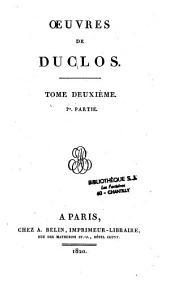 Oeuvres de Duclos