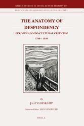 The Anatomy Of Despondency Book PDF