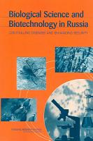 Biological Science and Biotechnology in Russia PDF