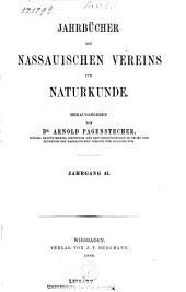 Jahrbücher des Nassauischen Vereins für Naturkunde: Bände 41-42