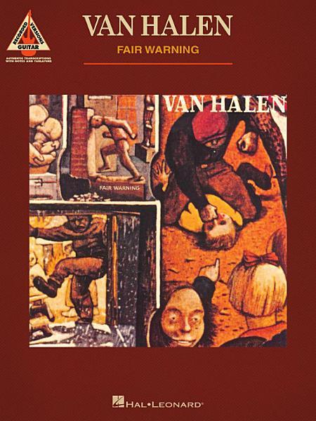 Download Van Halen   Fair Warning  Guitar Recorded Versions Book