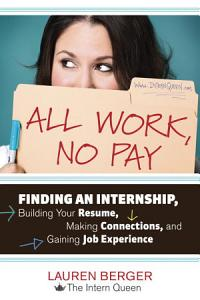 All Work  No Pay Book