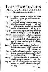 Summaria Investigacion de el origen y privilegios de los Ricos Hombres o Nobles...