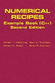 Numerical Recipes Example Book  C