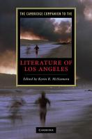 The Cambridge Companion to the Literature of Los Angeles PDF
