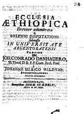 Ecclesia Aethiopica Breviter adumbrata