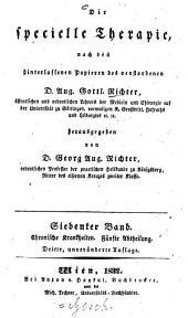 Die specielle Therapie: Chronische Krankheiten ; 5. Abtheilung, Volume 7