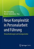 Neue Komplexit  t in Personalarbeit und F  hrung PDF