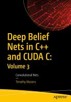 Deep Belief Nets in C   and CUDA C  Volume 3 PDF