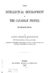The Intellectual Development of the Canadian People: An Historical Review