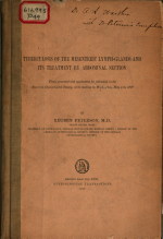 Tuberculosis of the Mesenteric Lymphglands & Its Treatment by Abdominal Section ...