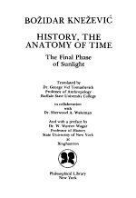 History, the Anatomy of Time