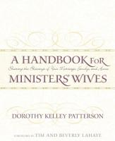 A Handbook for Minister s Wives PDF