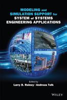 Modeling and Simulation Support for System of Systems Engineering Applications PDF
