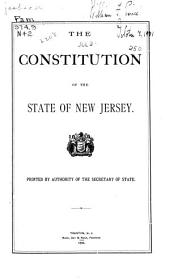 The Constitution of the State of New Jersey
