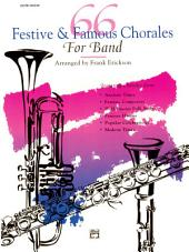 66 Festive and Famous Chorales for Band for 2nd Clarinet