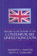 Historical Dictionary of the Contemporary United Kingdom PDF