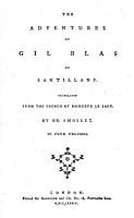 The Adventures of Gil Blas of Santillane PDF